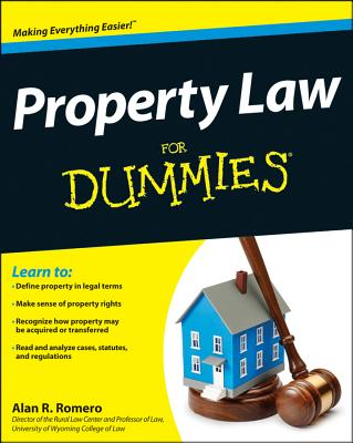 Property Law for Dummies By Romero, Alan R.